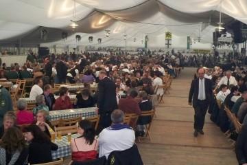 Schützenfest Dormagen: Unter anderem für Festzeltveranstaltungen müssen die Schützenvereine ab 2013 mehr Gema-Abgaben zahlen. Foto: Uwe Heier, BSV Dormagen