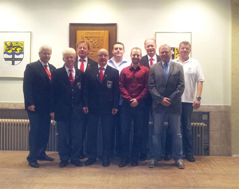 Neu- und wiedergewählte Vorstandsmitglieder
