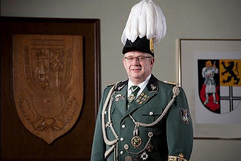 Uwe Heier ist fast täglich zwei bis drei Stunden ehrenamtlich für den Verein im Einsatz.