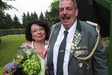 Rolf und Angelika Schlömer werden heute in Dormagen gekrönt. Foto: Jaz