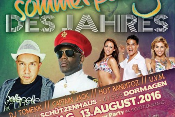Plakat BSV-Sommerparty 2016