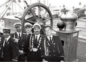 "Marinezug ""Blaue Marine"""