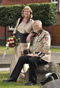 Das Dormagener Königspaar Rainer und Jutta Warstat genießt ihr Regentschaftsjahr. FOTO: Freibeuter