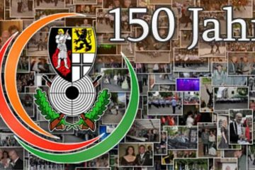 Mit neuem Logo und Foto-Collage wirbt der Bürger-Schützen-Verein im Internet für sein Jubiläumsjahr, das am 31. Dezember mit einer Party beginnt. FOTO: BSV