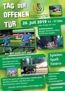 Plakat Tag der offenen Tür 2019